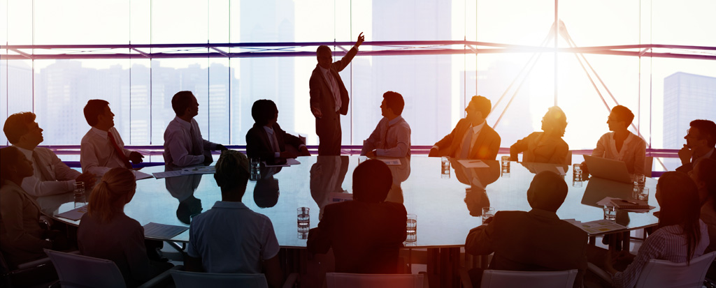 Mediation and Alternative Dispute Resolution: people working in a boardroom